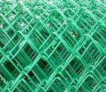 Сетка рабица с полимерным покрытием, продажа, цена, купить